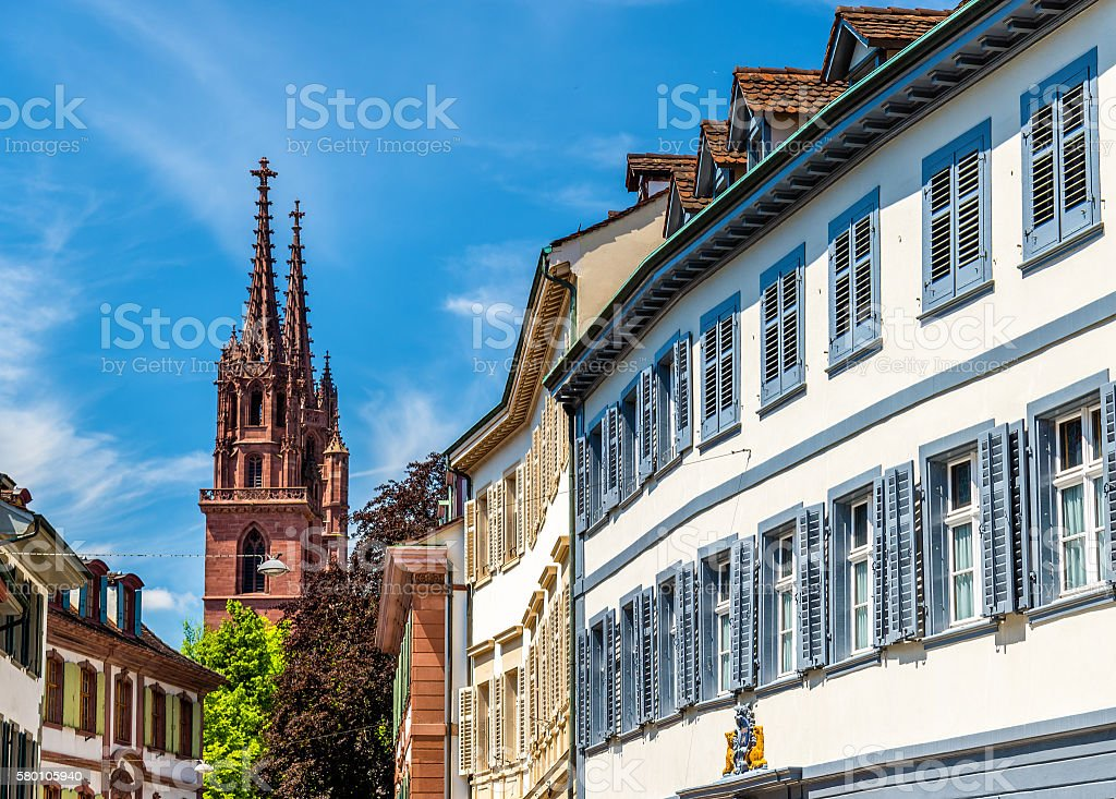 Buildings in the city centre of Basel – Foto