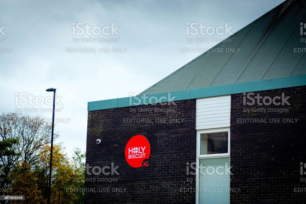 Buildings near Ouseburn in Byker stock photo