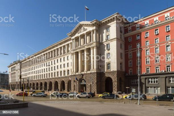 소피아 불가리아의 도시에 각료 회의의 건물 건물 외관에 대한 스톡 사진 및 기타 이미지