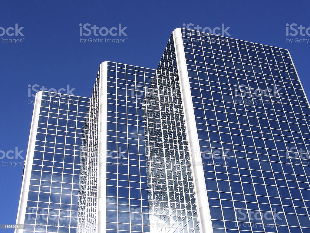 Buildings Of Glass royalty-free stock photo
