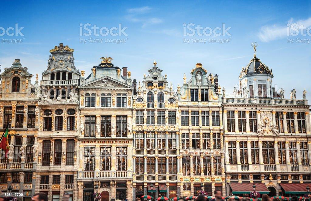 Bâtiments de la Grand-Place (Grote Markt), Bruxelles, Belgique - Photo