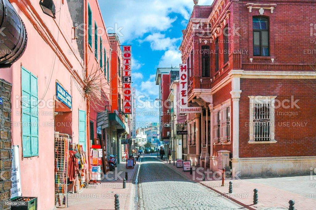Bâtiments sur la rue de Canakkale - Photo