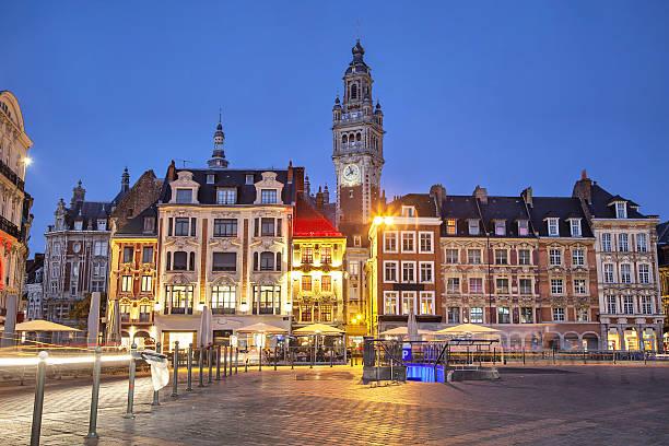 Gebäude auf der Grand-Place in Lille – Foto