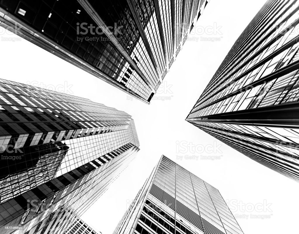 NYC Buildings royalty-free stock photo