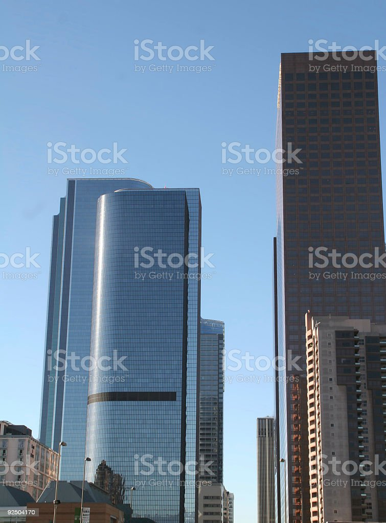 LA Buildings royalty-free stock photo