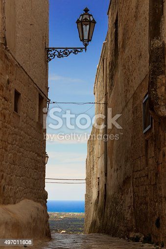 istock ARCHITECTURE AND BUILDINGS..Ostuni:panoramic view of the Valle d'Itria.-ITALY(Apulia)- 497011608