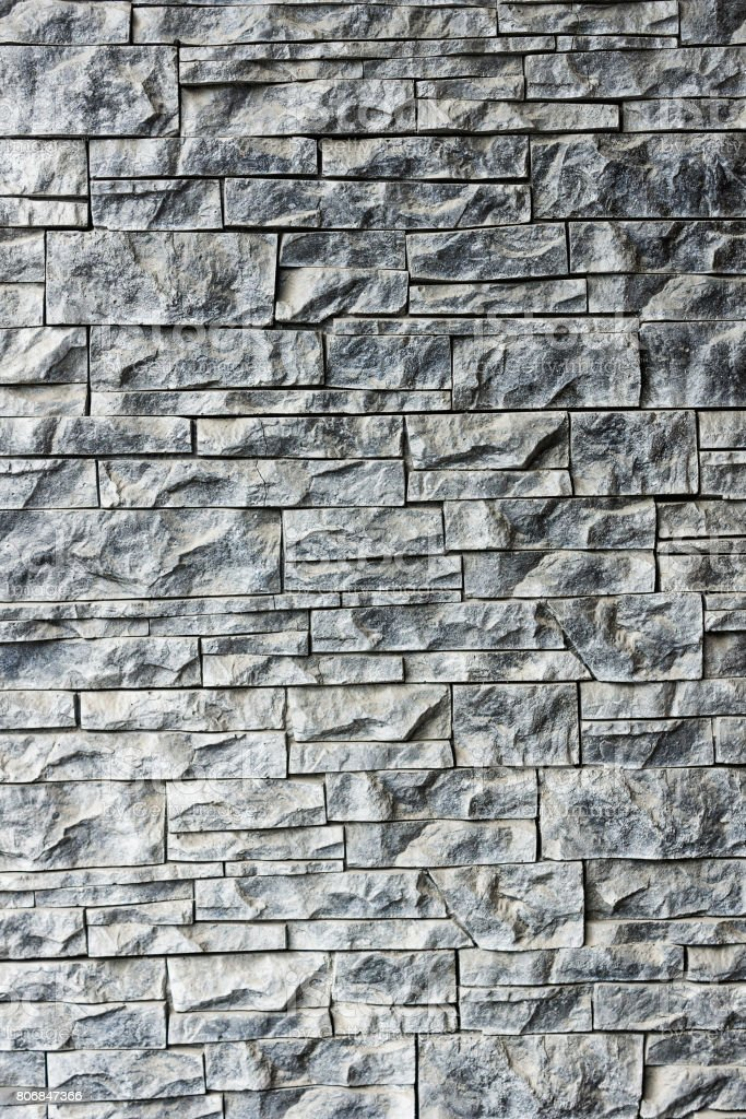 Built of stone textured wall stock photo