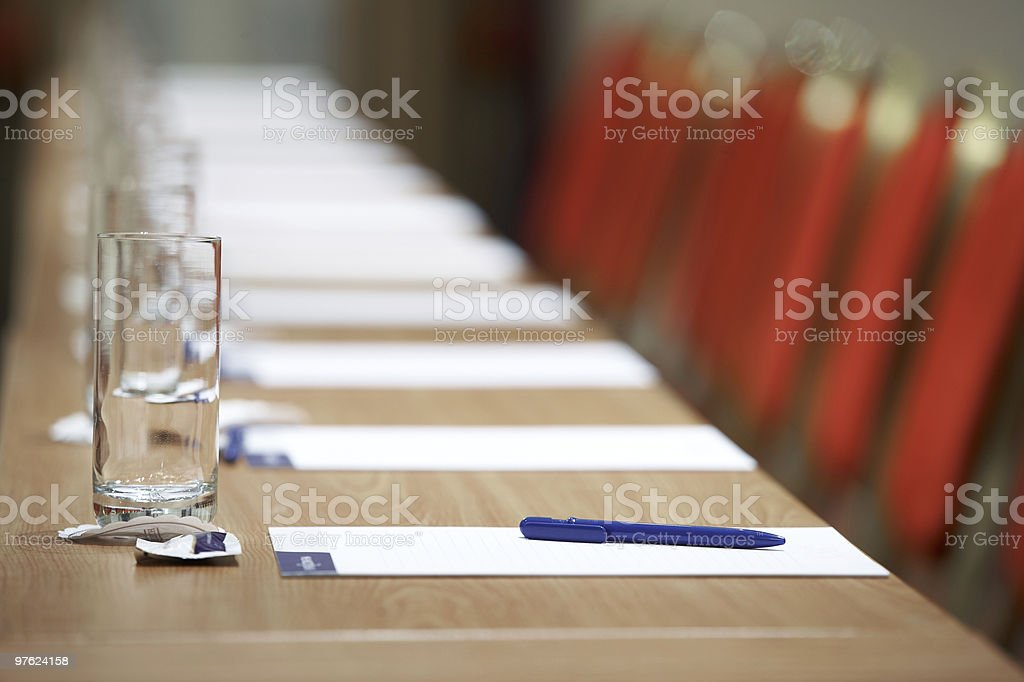 Buisness Conference Room landscape format royalty-free stock photo