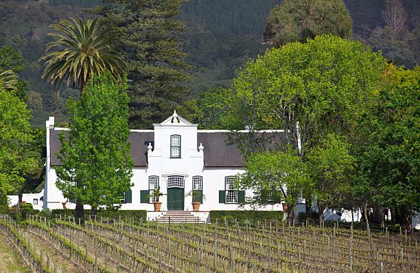 Buitenverwachting Manor House stock photo