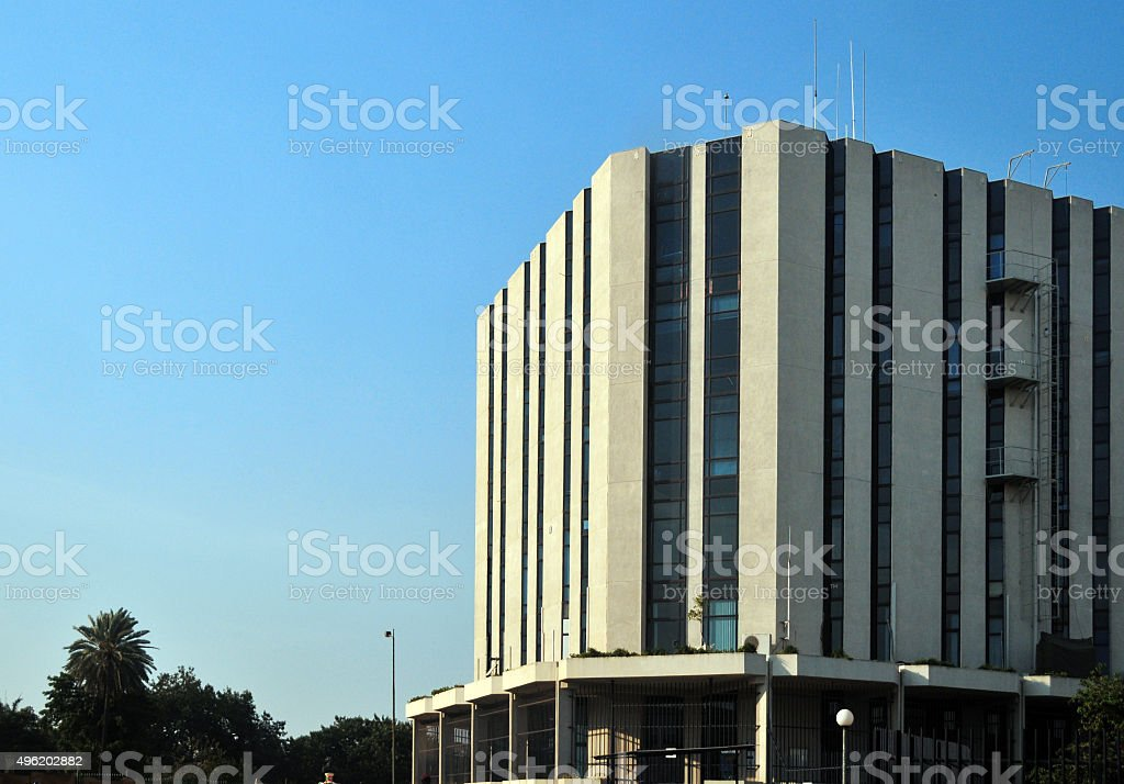 Bujumbura, Burundi: office building stock photo
