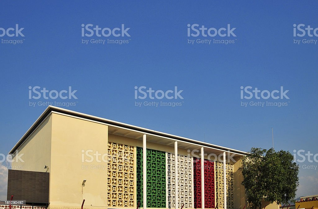 Bujumbura, Burundi: Palace of Arts and Culture stock photo