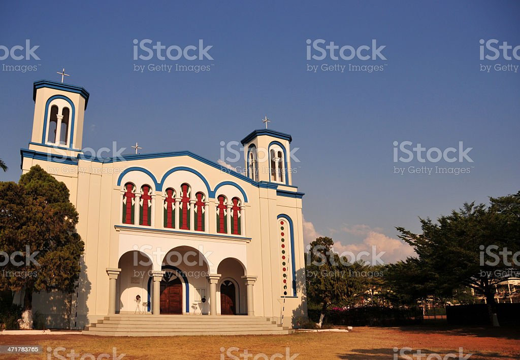 Bujumbura, Burundi: St George's Greek Orthodox Church, Avenue du Zaire stock photo