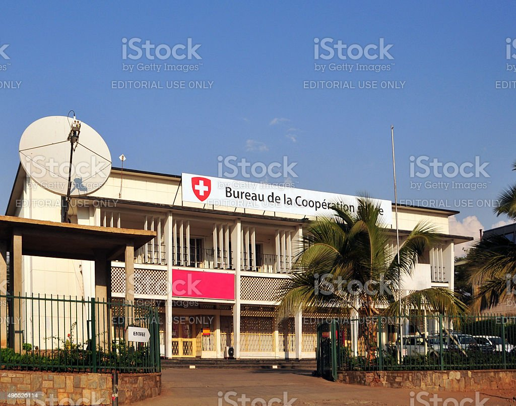 Bujumbura, Burundi: Swiss Cooperation Office stock photo