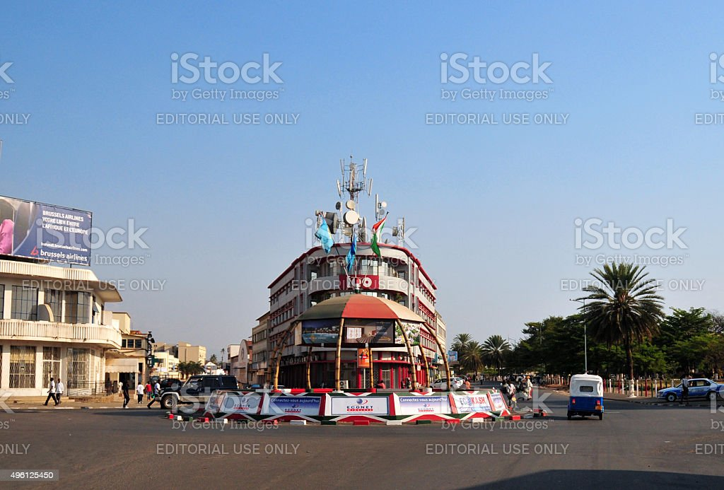 Bujumbura city center - Burundi stock photo
