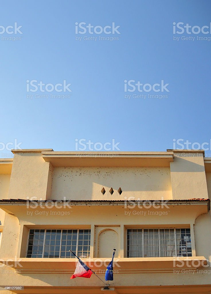 Bujumbura: French Institute in Burundi stock photo