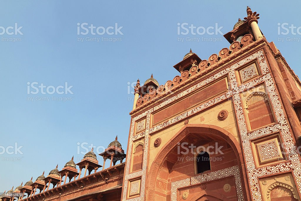Buland Darwaza 'Gate of Magnificence', Fatehpur Sikri, Uttar Pradesh, India stock photo