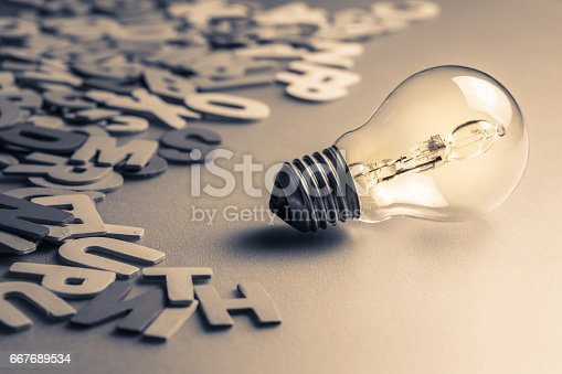 istock Bulb and Letters 667689534