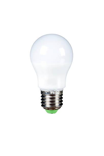 led-leuchtmittel clipping-pfad xxxl - glühbirne e27 stock-fotos und bilder