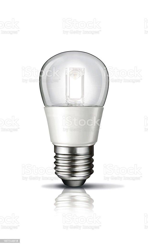Bulb Isolatet stock photo