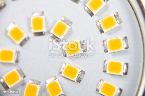 LED Bulb clipping-path XXXL