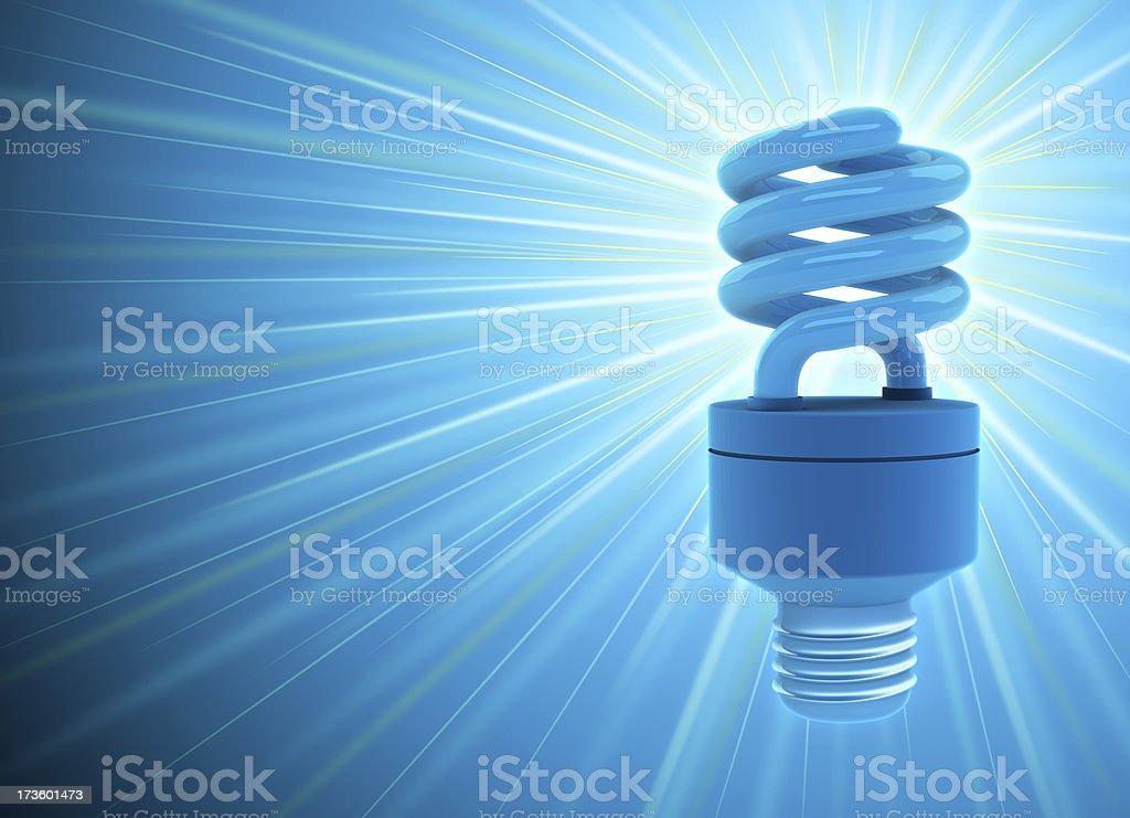 CFL bulb royalty-free stock photo