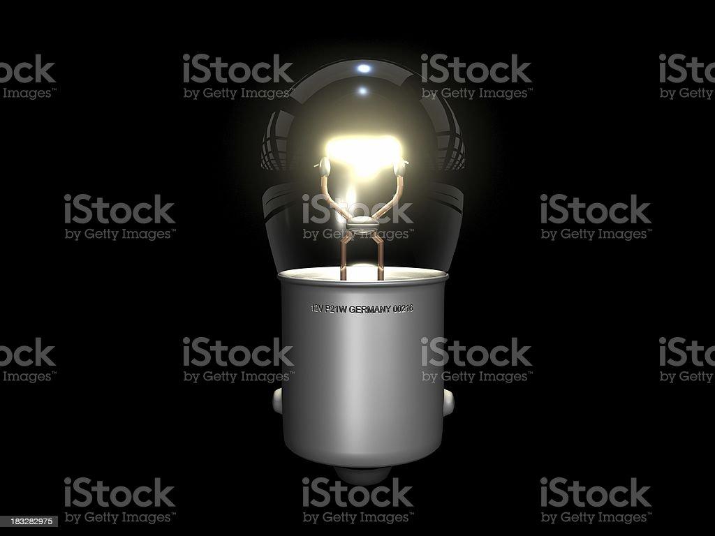 Glühbirne - Lizenzfrei Bildeffekt Stock-Foto