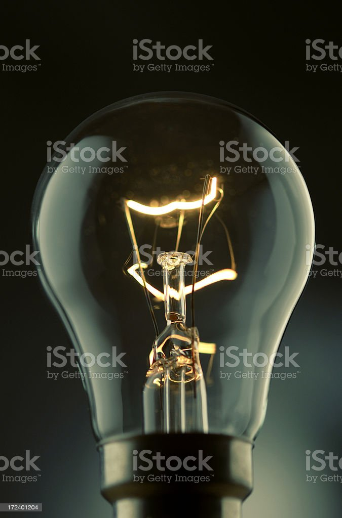 bulb series royalty-free stock photo