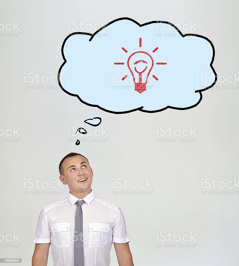 bulb success royalty-free stock photo