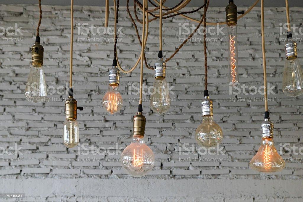 Bulb Vintage Decoration stock photo