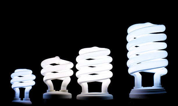 CFL Bulbs stock photo