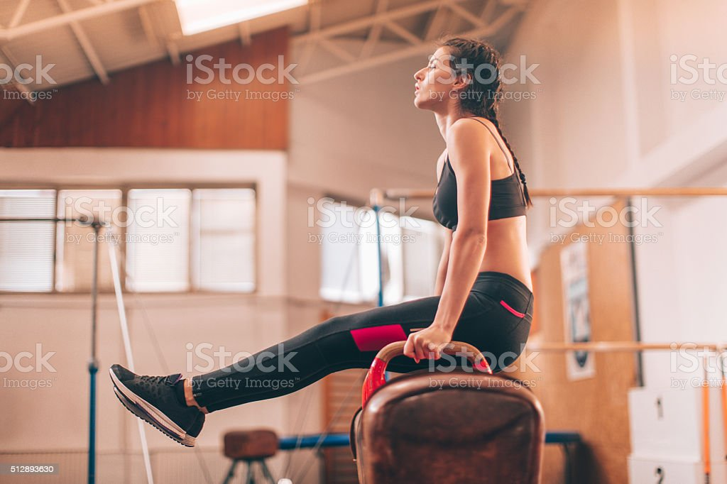 Bulding my stamina stock photo