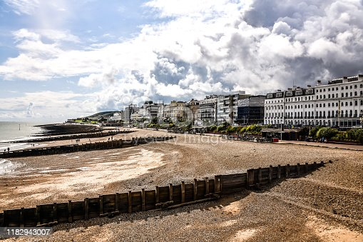 Buldings Near Eastbourne Beach, United Kingdom