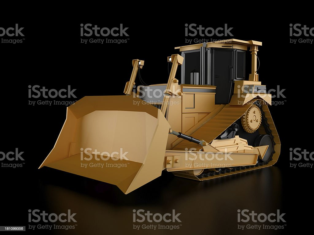 Buldozer royalty-free stock photo