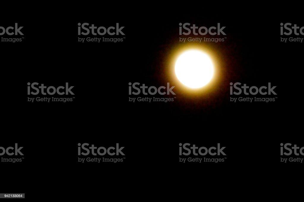 Bule Moon royalty-free stock photo
