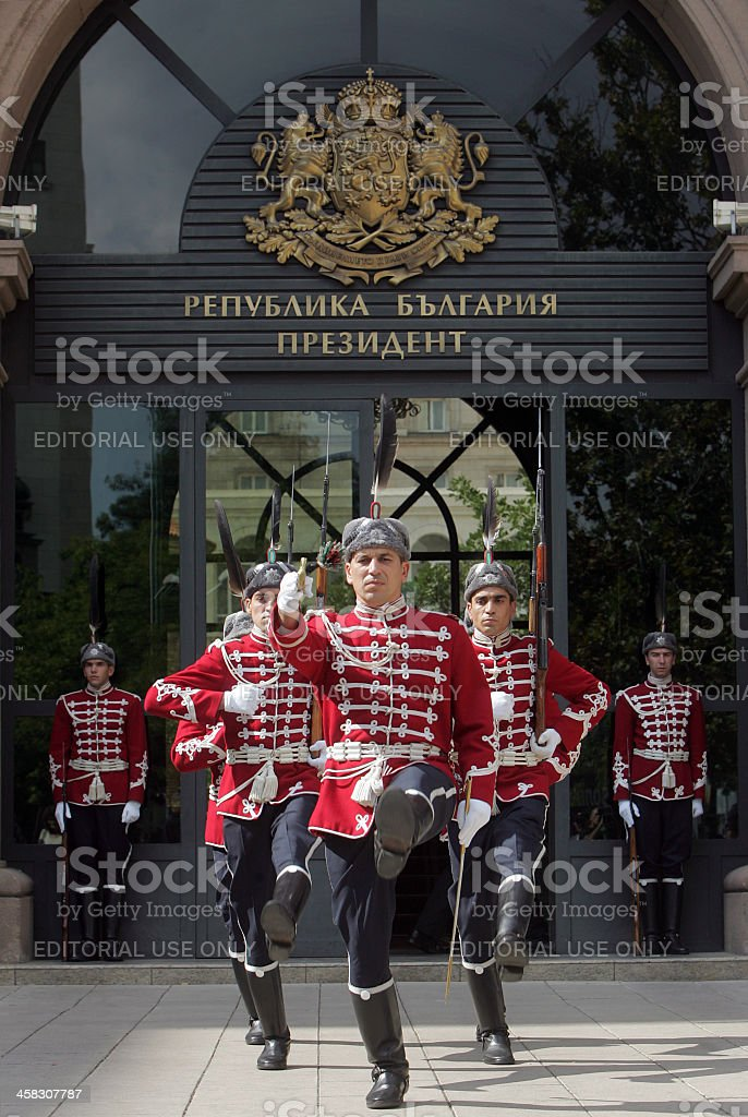 Bulgaria Guards of Honor royalty-free stock photo
