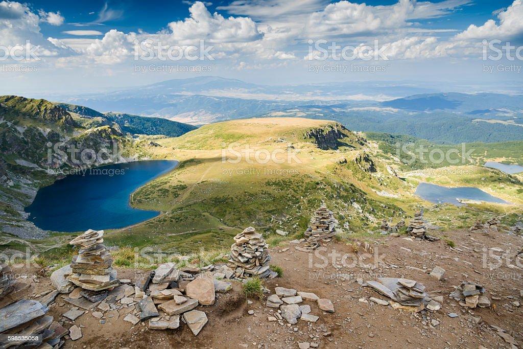 bulgaria mountains landscape stock photo