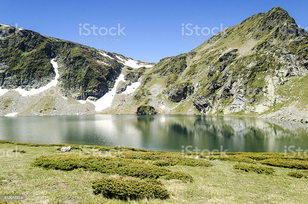 Bulgaria, seven Rila lakes stock photo