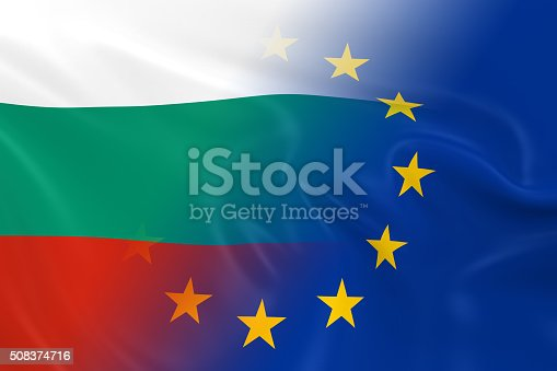 istock Bulgarian and European Relations Concept Image 508374716