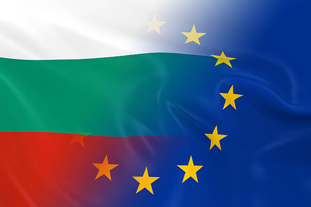 Bulgarian and European Relations Concept Image stock photo
