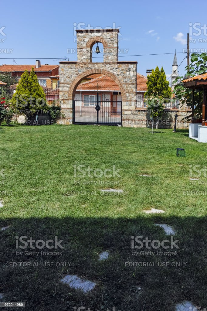 Bulgarian church of Saint Constantine and Saint Helena in city of Edirne,  East Thrace, Turkey stock photo