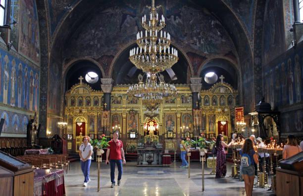 Bulgarian Orthodox Church St. Nedelya (Sveta Nedelya) stock photo