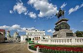 Bulgarian parliament square
