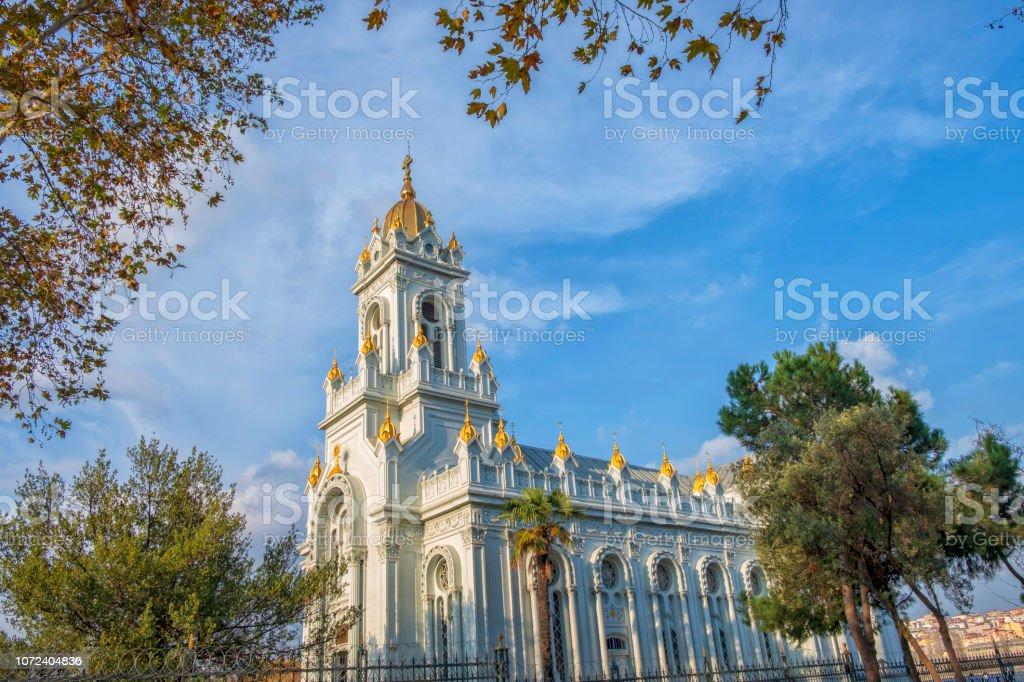 Bulgar St Stephen Kilisesi (demir kilise) stok fotoğrafı