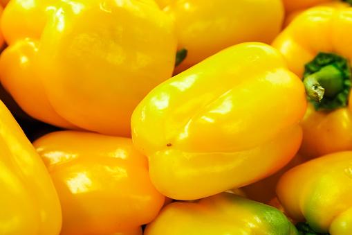 Bulgarian yellow pepper