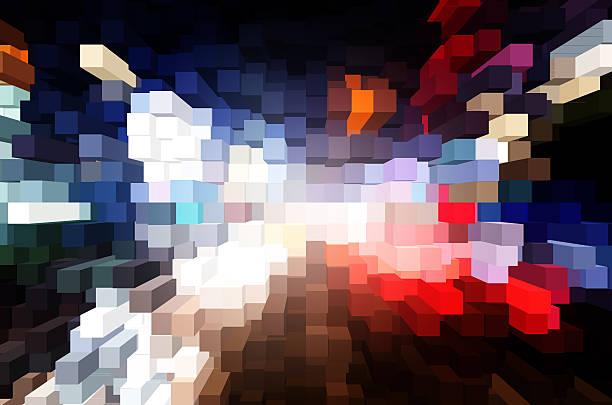 Bulge extérieur du cube - Photo