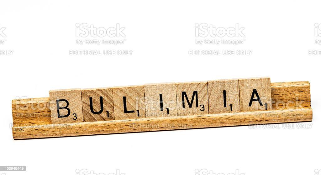Bulimia stock photo