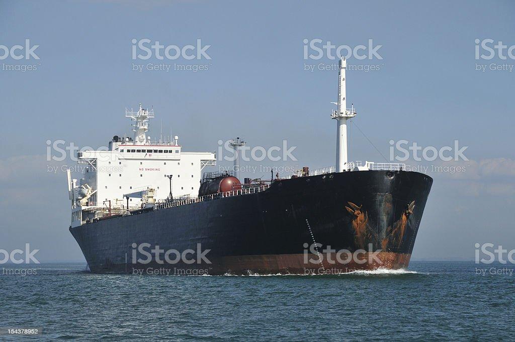 Bulk Cargo Ship royalty-free stock photo