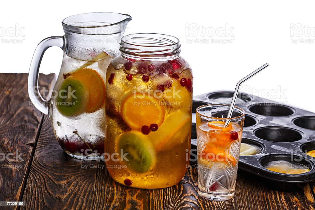 Bulk party drinks stock photo