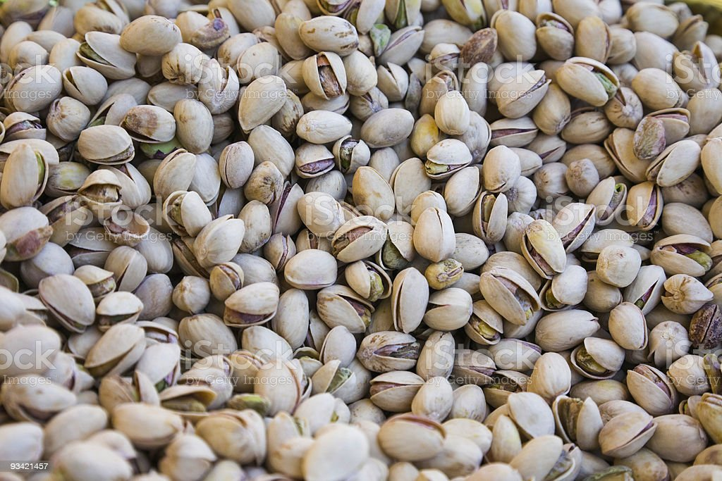 Bulk Pistachios royalty-free stock photo