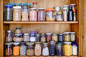 istock Bulk staple foods 1304818236